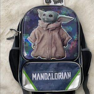 Mandalorian child backpack Disney